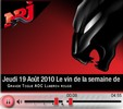 Radio NRJ Quebec wine of the week La Grande Toque