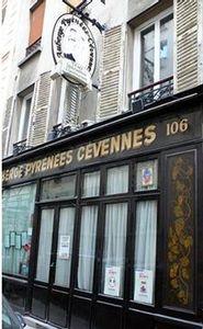 Auberge des Pyrennees Cevennes Paris 11 - vins du Luberon et Ventoux
