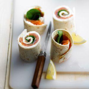 Wraps au saumon